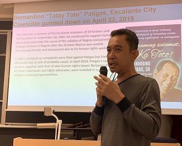超法規的殺害:フィリピンからの報告(まだ間に合います!16日~18日東京)