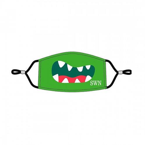 Monster Personalized Kids Adjustable Face Mask