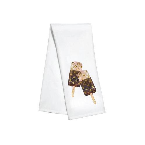 LV Popsicles Kitchen Towel