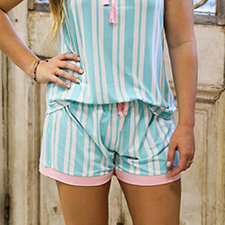 Beauty in Blue Sleep Shorts