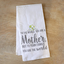 Mother's World Flour Sack Hand Towel