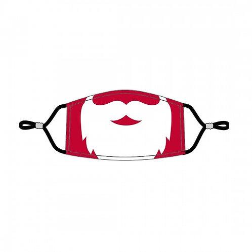 Santa Kids' Adjustable Face Mask