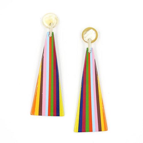 Rainbow Stripe Earrings