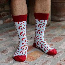 Men's Hot Pepper Socks