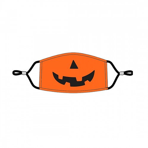 Halloween Kids' Adjustable Face Mask