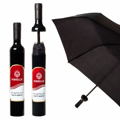 Misty Spirits Labeled Bottle Umbrella