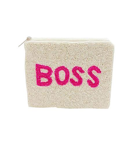 Boss Beaded Coin Purse