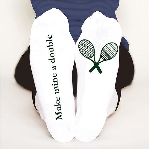 Make mine a double socks