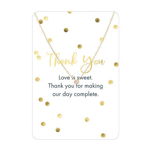 Keepsake Card Necklaces