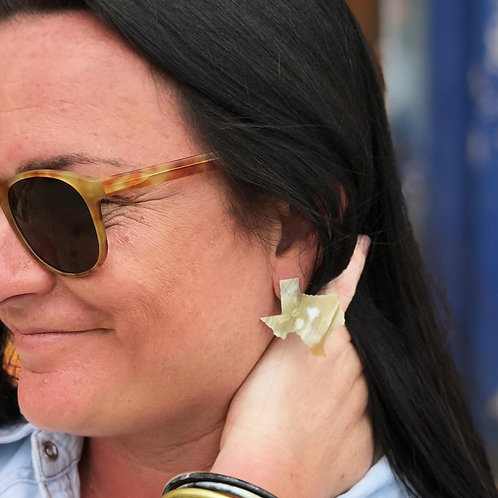 Texas Horn Earrings