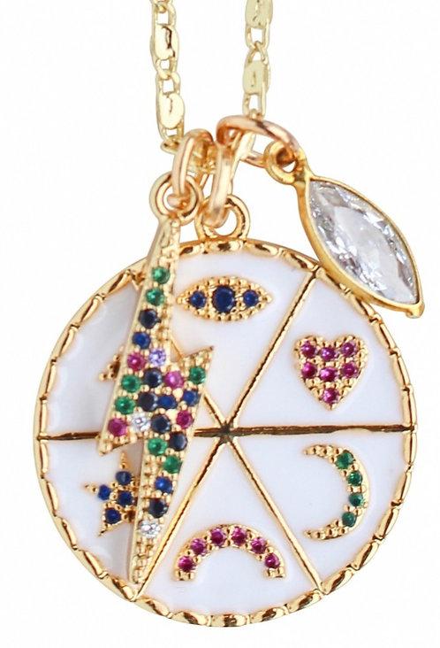Rainbow Charmy Necklace