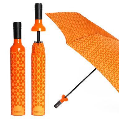 Botanical Orange Bottle Umbrella