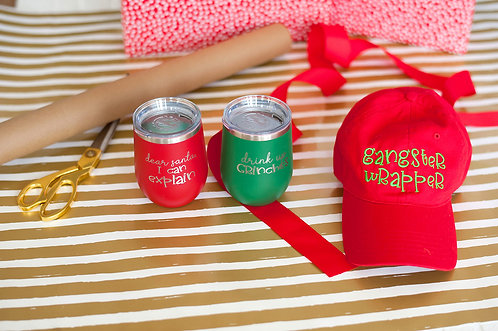 Holiday Cheer Insulated Tumblers
