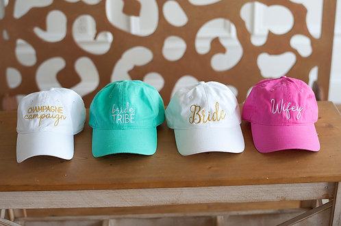 Bridal Season Caps
