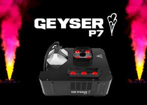 Maquina de humo chauvet Geyser p7