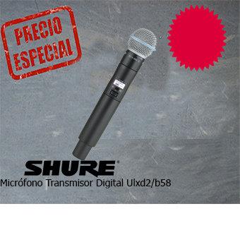 SHURE ULXD2/B58