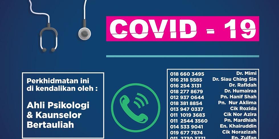 Talian Bantuan Psikologi Dan Kaunseling COVID-19
