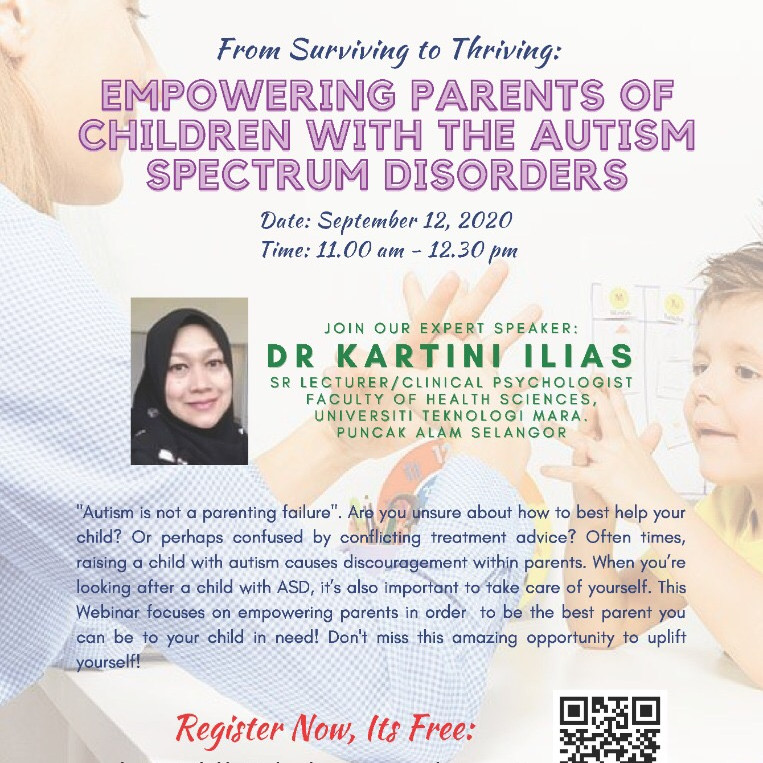 Empowering parens of children with the autism spectrum disorder