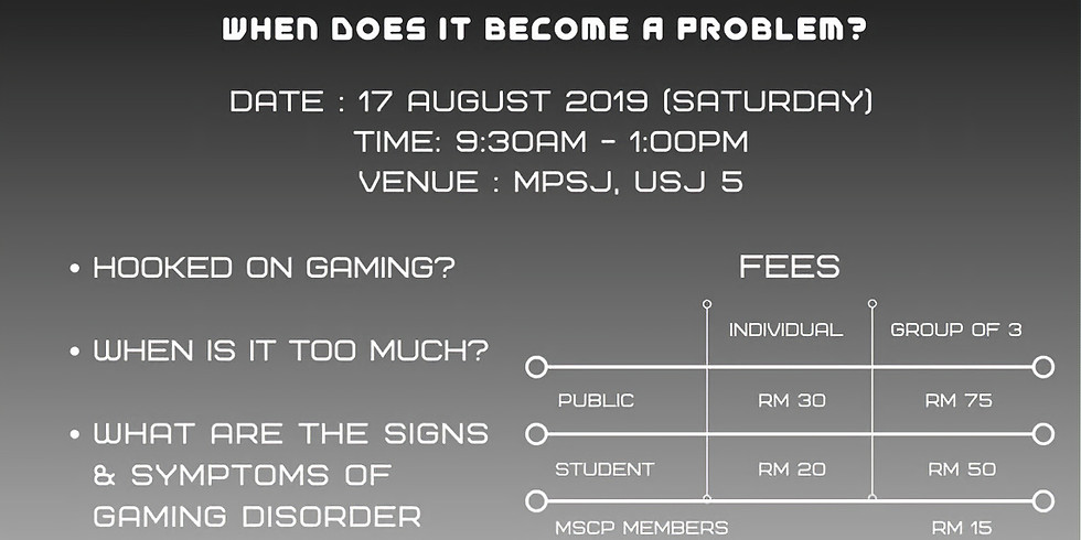 Public Talk: Internet Gaming and Youth