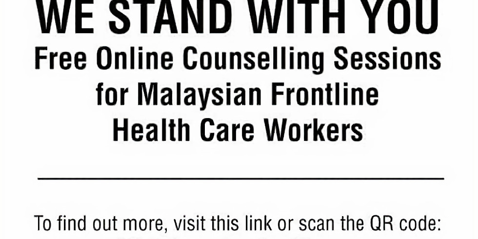 Free Counselling Sessions for Frontline Health Care Workers