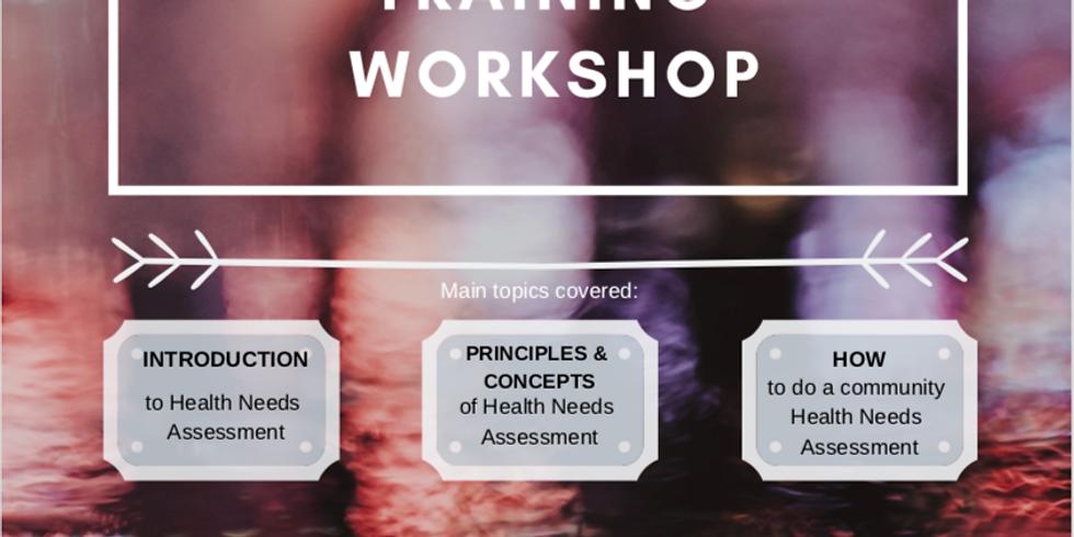 Chill & Spill: Community Health Needs Assessment Training