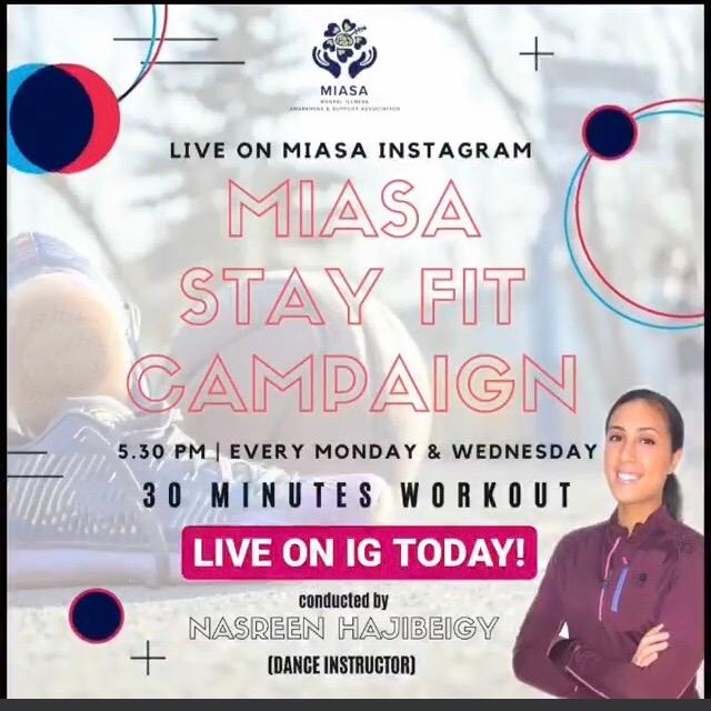 MIASA Stay Fit Campaign