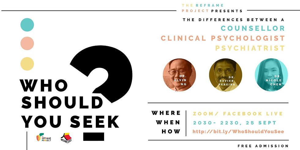 Who Should You Seek? Counselor, clinical psychologist or psychiatrist?