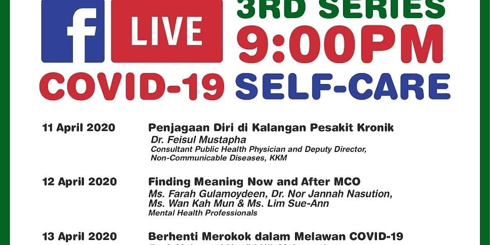 Mercy Malaysia- 3rd series MCO self-care
