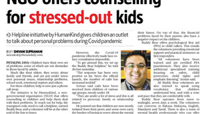NGO offers counselling for stressed-out kids