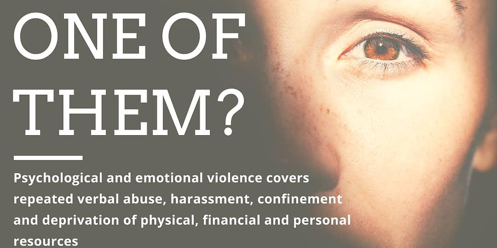 Mental health support for victims of domestic violence.