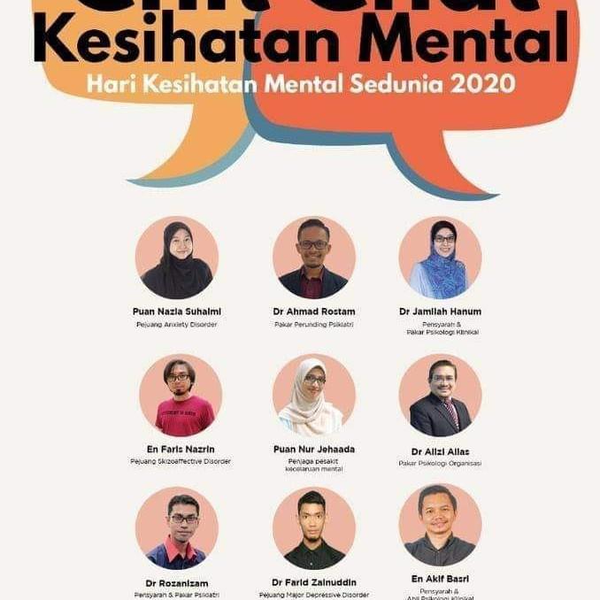 Chit Chat Kesihatan Mental 2020
