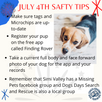 Think Dog Safety as we approach 4th of July