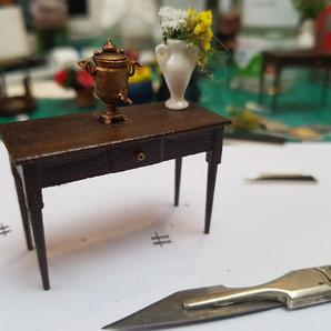 Consol Table and Samovar