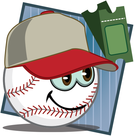 Baseball icon illustration