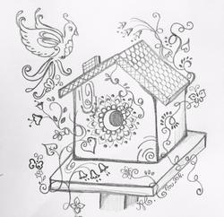 magical birdhouse