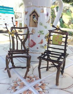 Tiny Twig chairs
