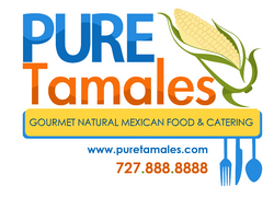 LOGO for Pure Tamales.