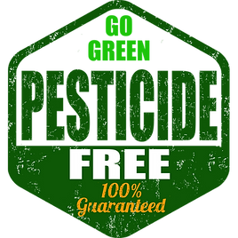 pesticide free guaranteed
