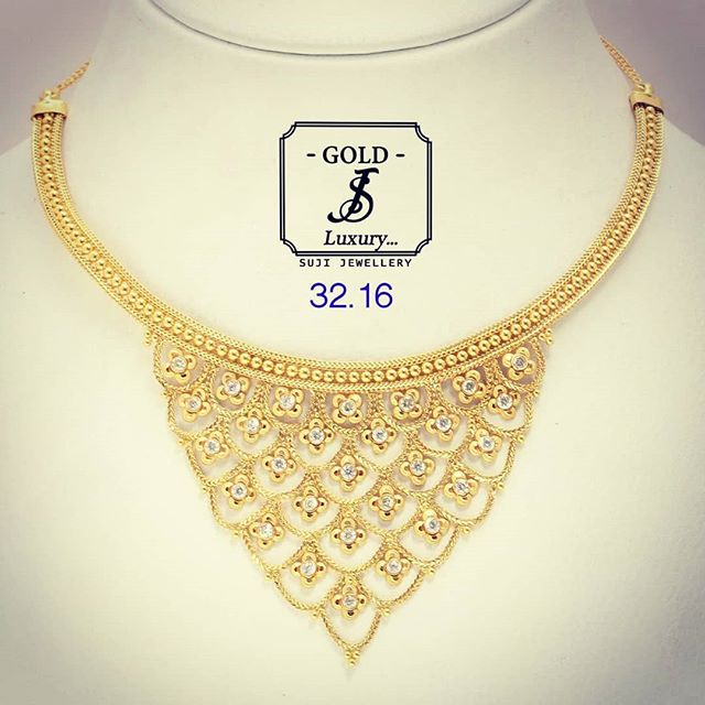 😍💫Short Necklace❤️❤️ #sujijewellery #jewerlyfashion #indianjewelry #goldfashion #jewellerydesign #