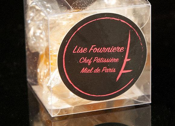 Boite de 50g de Bonbons au Miel de Paris