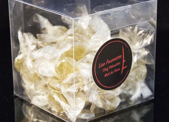 Boite de 50g de Bonbons au Miel de Paris et Romarin