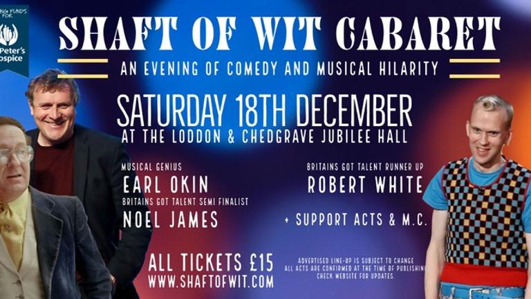 SHAFT OF WIT Christmas Comedy Cabaret
