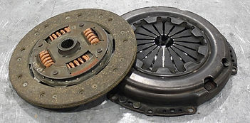 diaphragm type clutch and friction plate