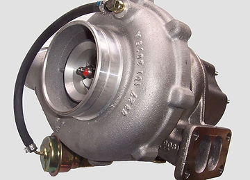 turbocharger with waste gate