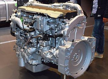 MAN diesel engine display
