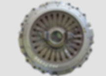 diaphragm type clutch with release beari