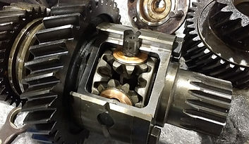 sectioned third differential in transfer