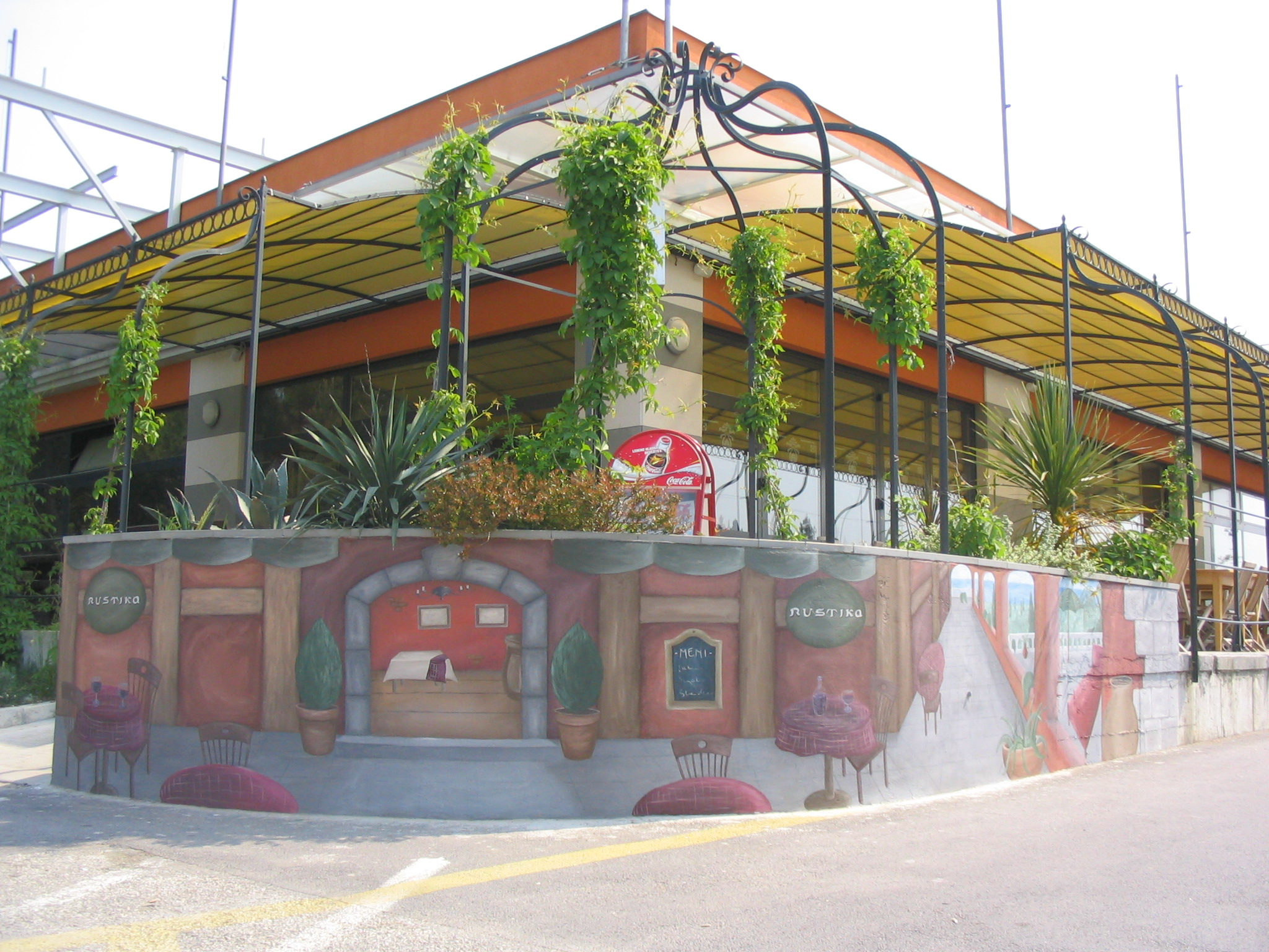 mural pizzeria