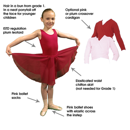 C and C Dance Ballet Uniform Beginner - Grade 1
