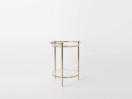 Unic Table_ gold frame